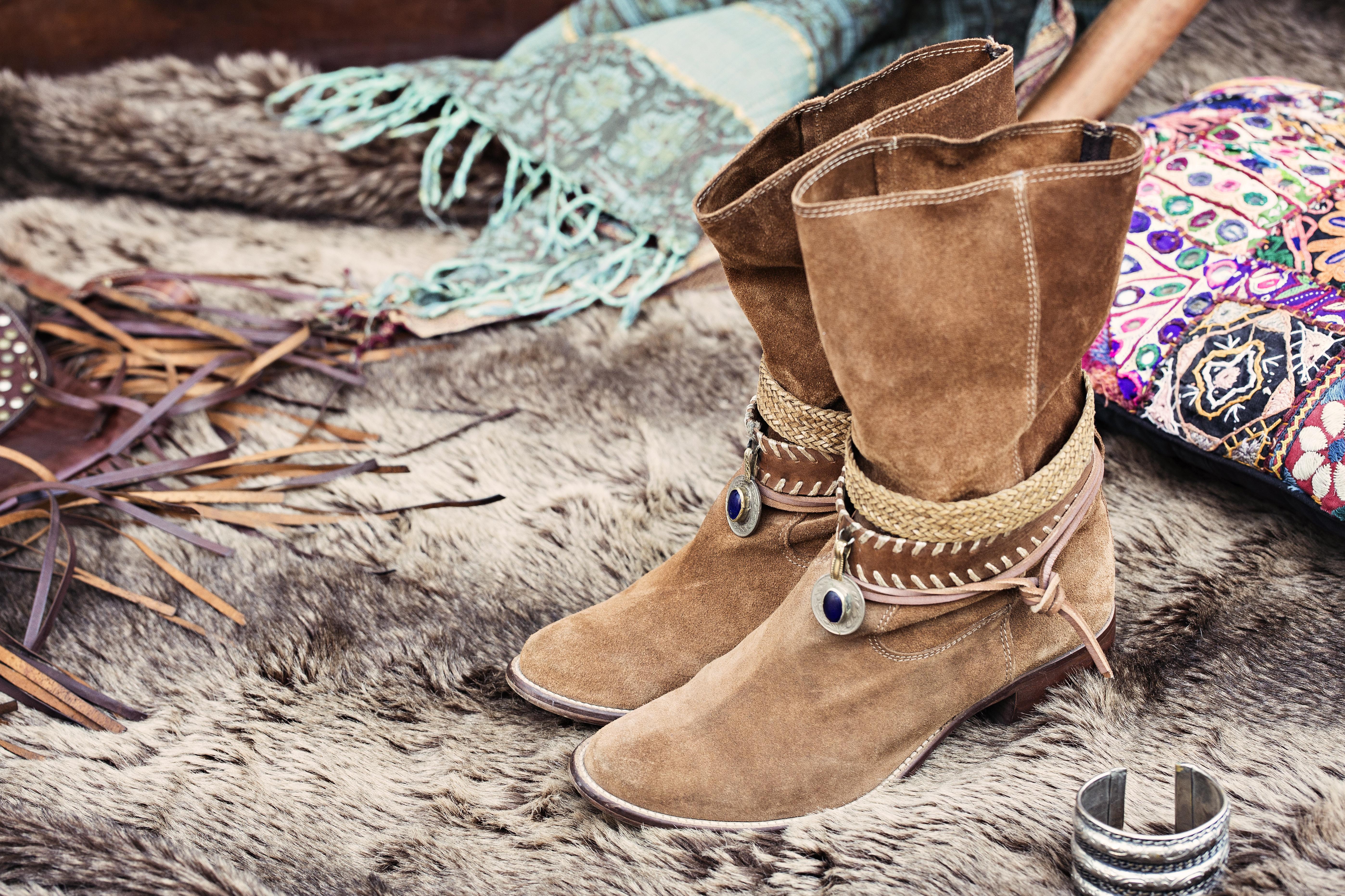 botas boho chic